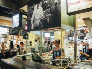 Jídelny v thajských obchodních domech