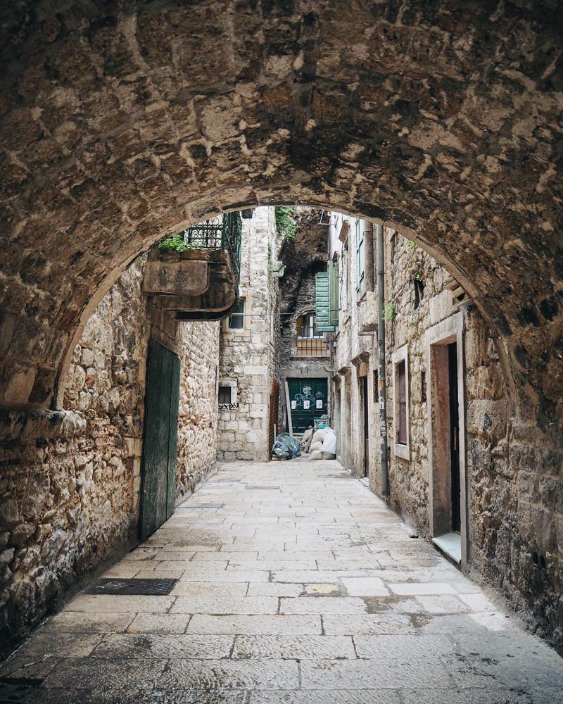 Staré město ve Splitu