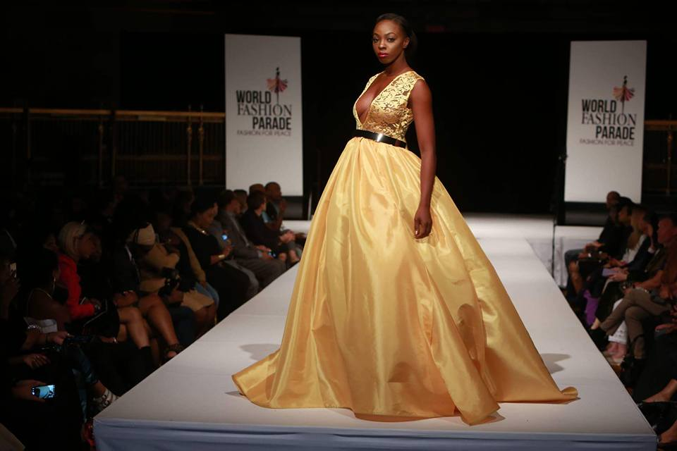 Soyini Fraser rocked the World Fashion Parade runway!