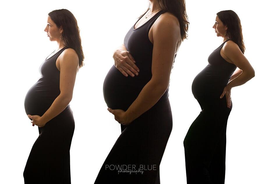Pittsburgh Maternity Photographer | Pregnancy Perfection | Studio Maternity Portrait