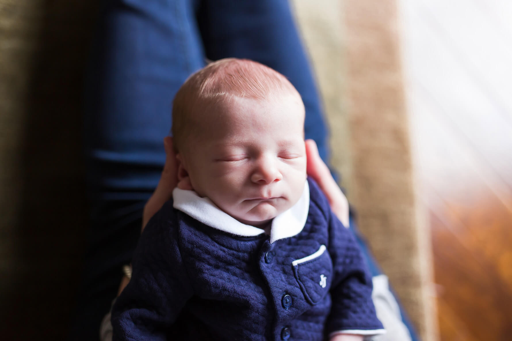 Newborn Baby Nolan | Sports Nursery