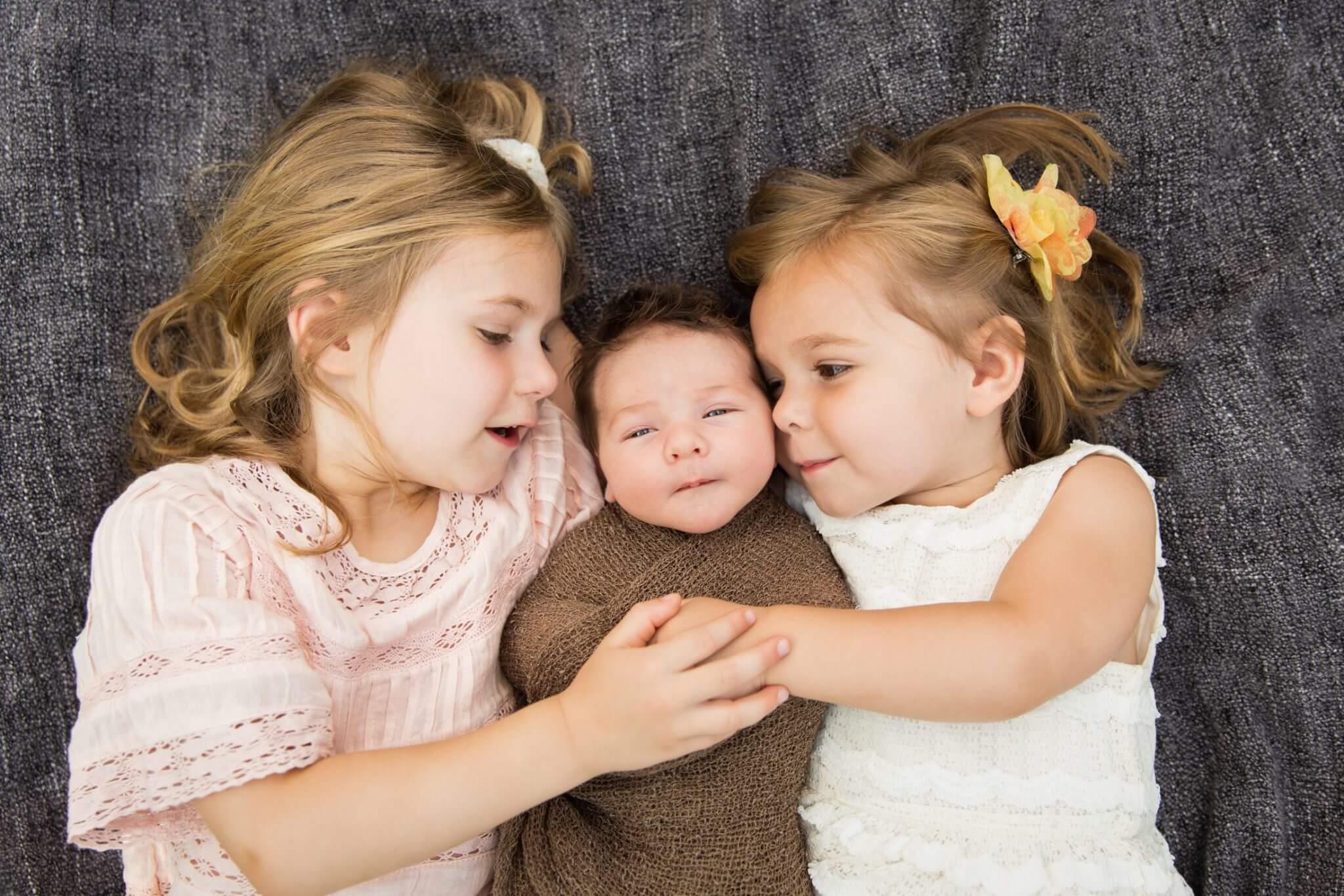 Cellone Family Outdoor Newborn Session