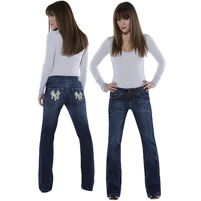 NY Yankees Jeans by Alyssa Milano