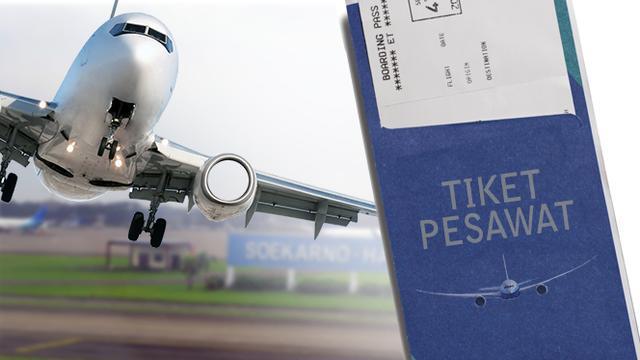di tengah pandemi corona harga tiket pesawat mahal
