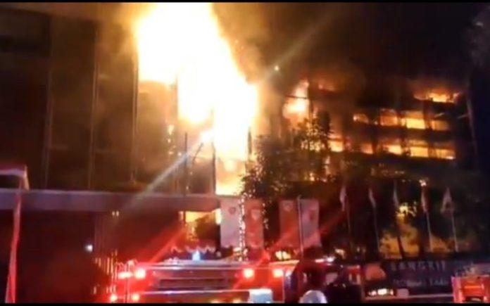 terkait kasus kebakaran Gedung Utama Kejaksaan Agung