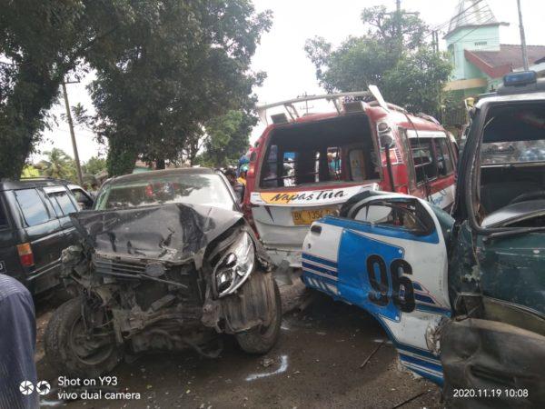 Kecelakaan Beruntun di Simalungun, Ini Data Para Korban