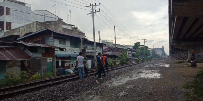 Astaga! Kakek 85 Tahun Tewas Ditabrak KA di Jalan Bambu II Medan