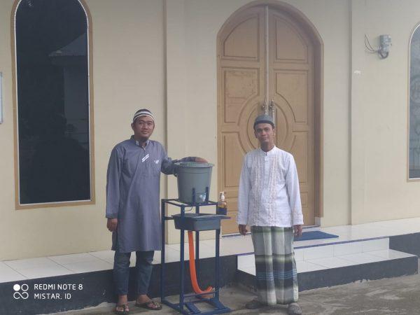 Warga Mesjid Siti Omeh Siantar Apresiasi Bantuan Alkes untuk Tanggulangi Corona