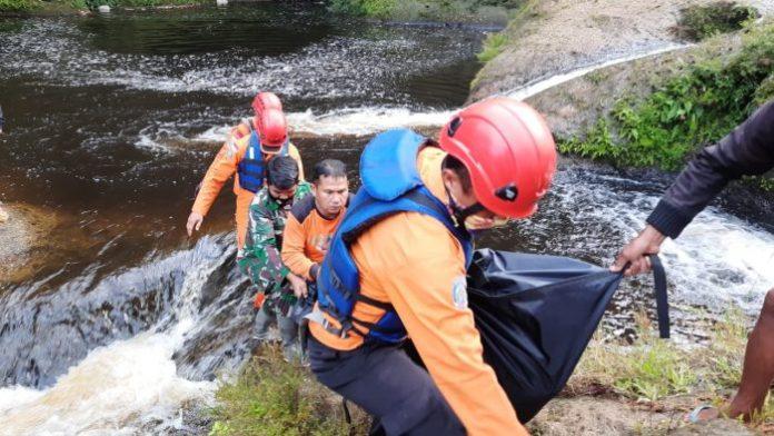 Hanyut, Irfan Kaloko Ditemukan Meninggal di Sungai Lae Simuhur Dairi