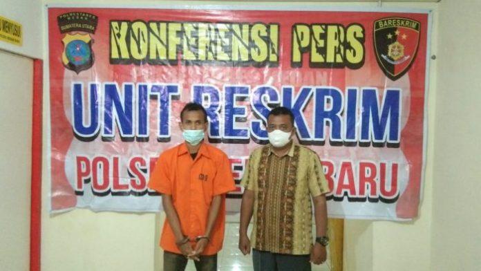 Polisi Amankan Pengguna Sabu dari Jalan Gunung Krakatau Medan