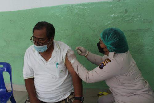 Polres Siantar Gelar Vaksinasi Massal Tahap II