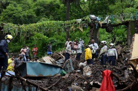 Mumbai Dilanda Tanah Longsor, 30 Orang Tewas