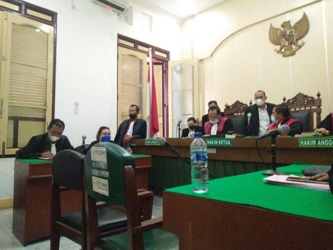 Supir Bus Putra Pelangi Perkasa Dituntut 20 Tahun Penjara