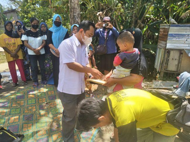 Keluarga Korban Kebakaran di Simarimbun Dapat Bantuan