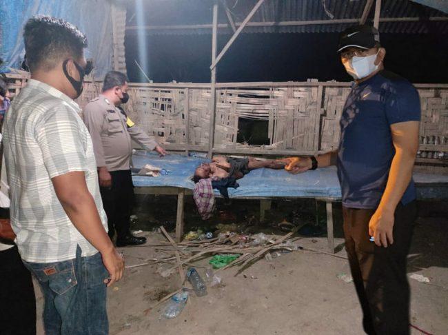 Keluarga Siapa Ini? Mayat Pria Ditemukan di Gubuk Tambal Ban Simpang Gambus Batu Bara