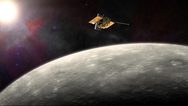 Pesawat Misi Antariksa Eropa-Jepang Tiba di Merkurius
