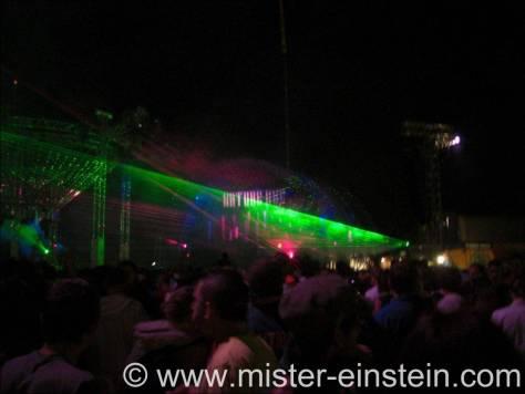 Lasershow mainfloor