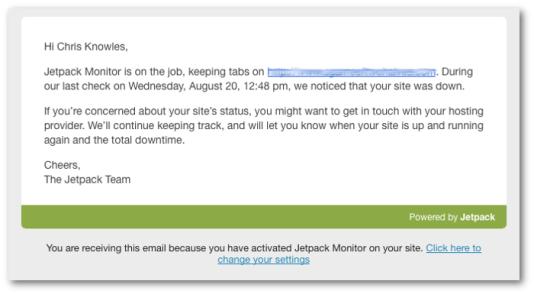 E-mail site DOWN