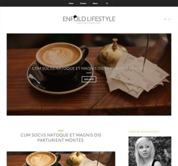 Enfold Lifestyle Blog