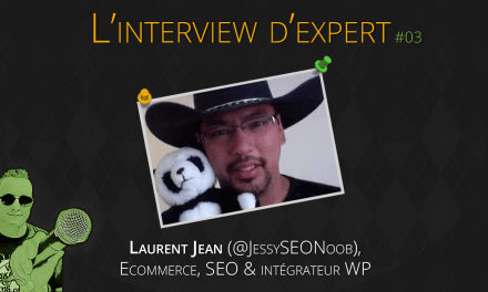 Laurent JEAN (Jessy SEO noob)