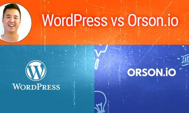 Créer son site web : quel CMS choisir, WordPress ou Orson.io ?
