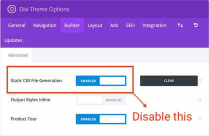 minification / concatenation divi Wp Rocket