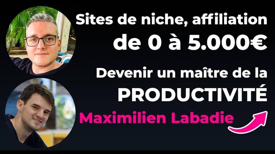 Maximilien Labadie et Nicolas Laruelle sur YouTube