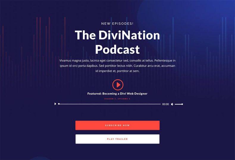 Divi: el mejor tema para crear un blog de podcast