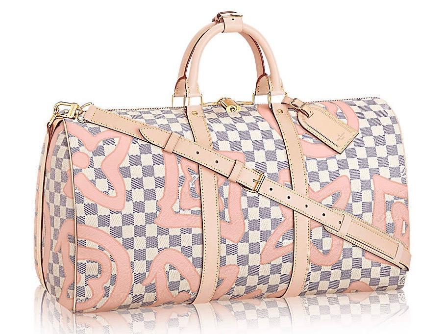 Louis Vuitton Keepall 50 Damier Azur