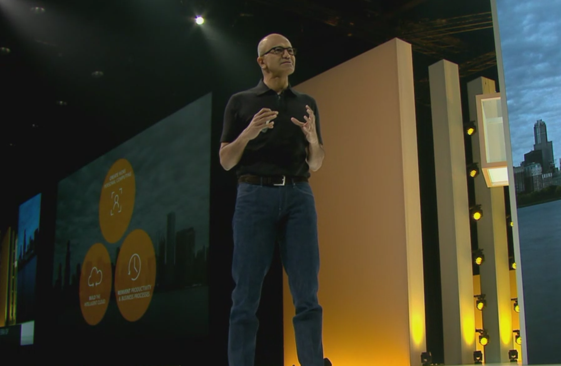 productivity and business processes intelligent cloud and personal computing as segmented categories Microsoft partners with adobe updates office 365, azure, more #msignite by noreen seebacher althoff said microsoft has focused its innovation on three main categories: personal computing, productivity and business processes, and the intelligent cloud platform.