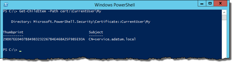 How to create a custom self signed certificate with PowerShell ...