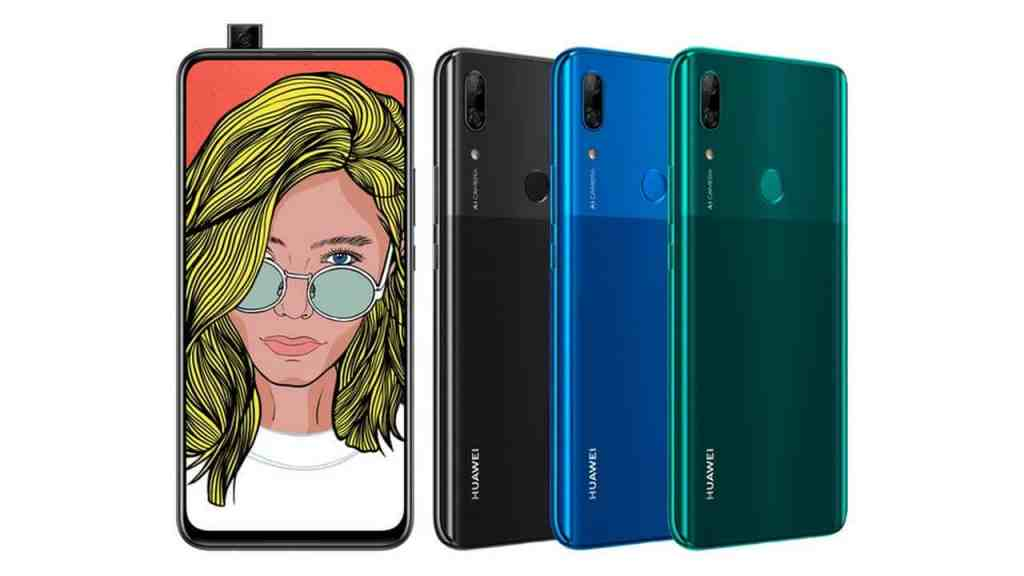 Huawei P Smart Z: pop up camera in versione low cost