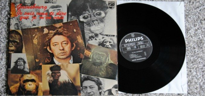 L 39 album vu de l 39 ext rieur sort en 1973 for Gainsbourg vu de l exterieur
