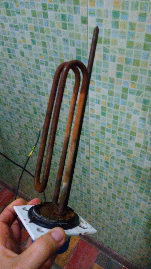 """Замена магниевого анода в водонагревателе """"Gorenje"""""""