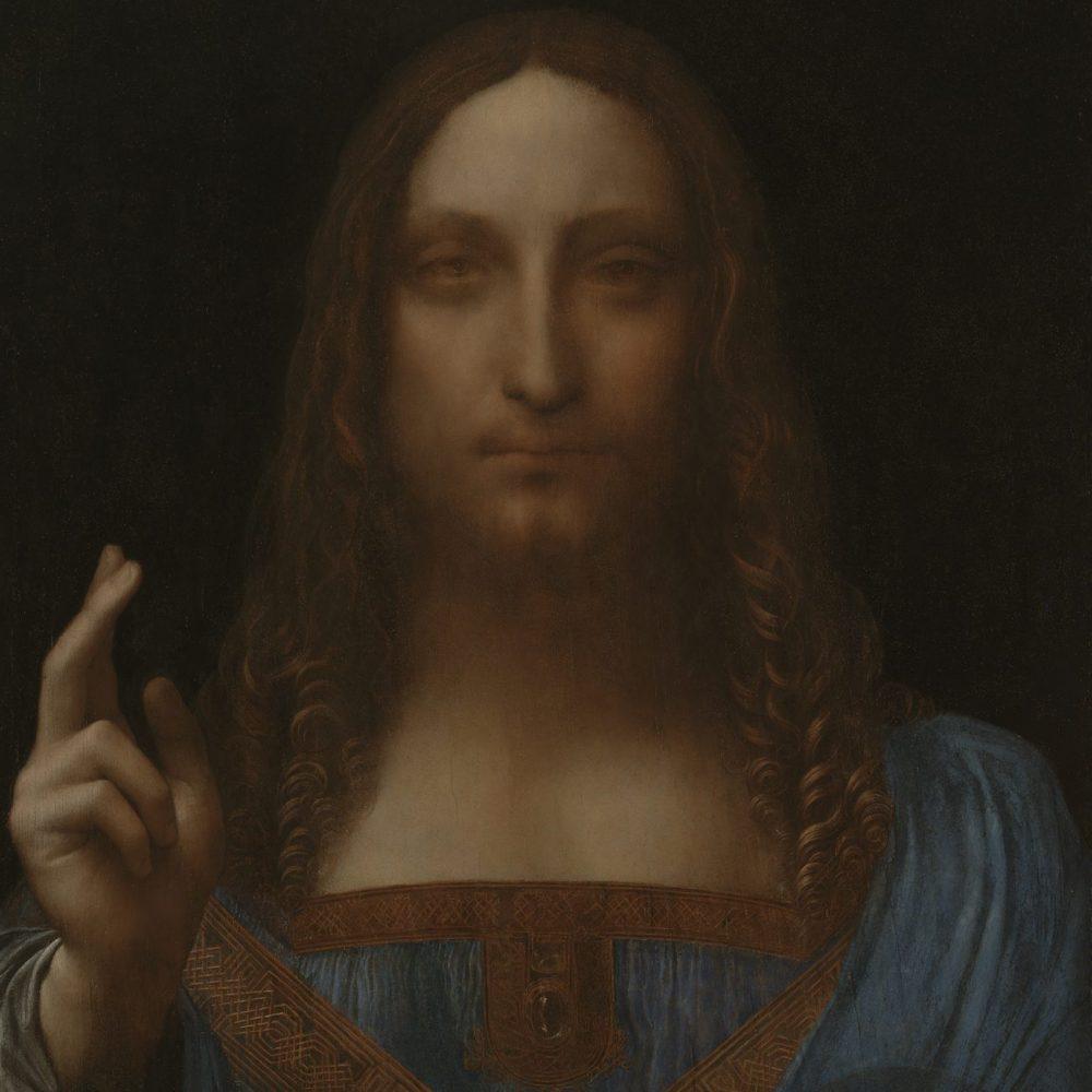 Leonardo da Vinci, Salvator Mundi, s.d. Óleo sobre lienzo, 65,6 x 45,4 cm. Colección privada. © 2011 Salvator Mundi LLC. Fotografía: Tim Nighswander/Imaging4Art