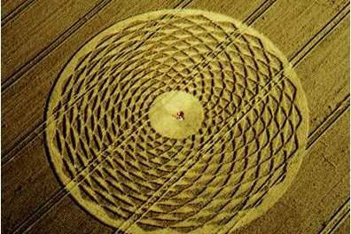 Il mistero dei cerchi nel grano di Basiano