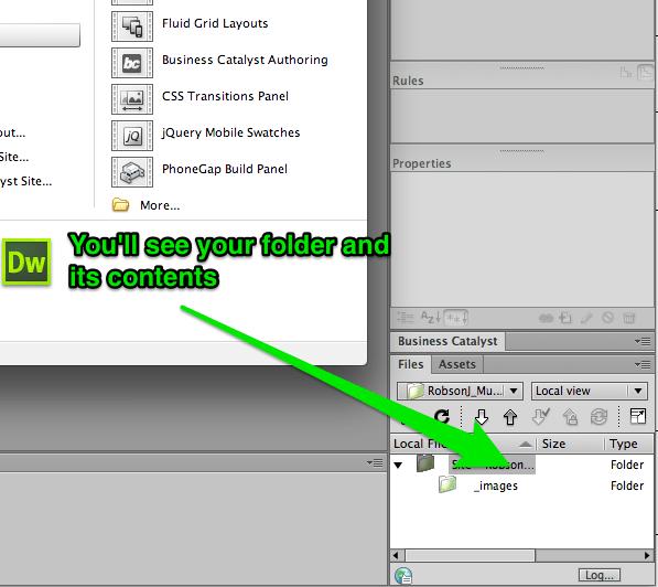 Welcome_Screen_and_Adobe_Dreamweaver_CS6-4