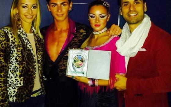 Premiazione campioni Italiani 2014