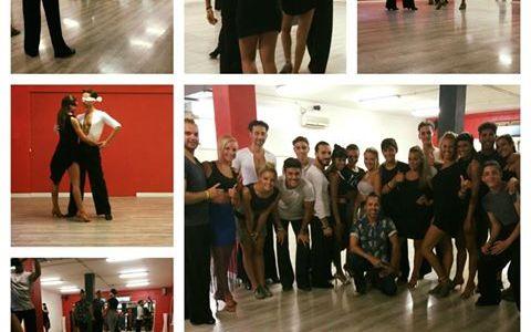 Body action stage danze latino americane