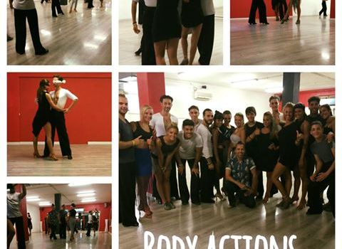 Body action stage danze latino americane