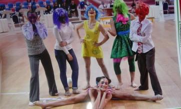 gruppo di danza sportiva