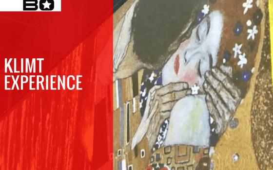 """La Danza incontra l'Arte. Mabo Team alla mostra """"Klimt Experience""""."""