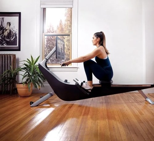 Rower for easy at home workouts