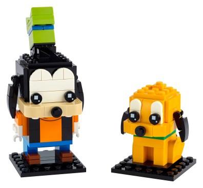 Lego Goofy and Pluto