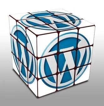 Wordpress hosting service rubik's cube