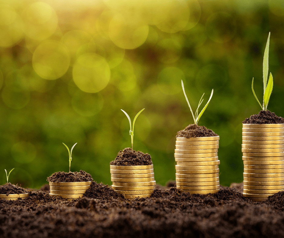 worthy bonds- coins with plants