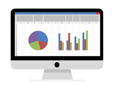 Best accounting software- monitor with graphs