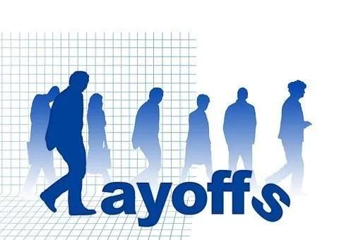 Unemployment- layoffs sign