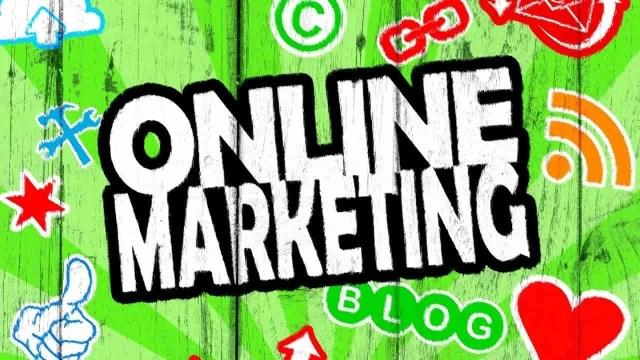 Online marketing strategies sign