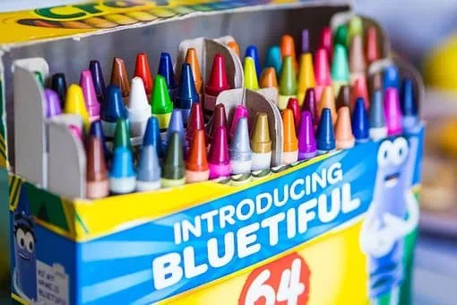 Schools reopening- crayons